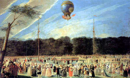Antonio Carnicero - Ascension d'un ballon
