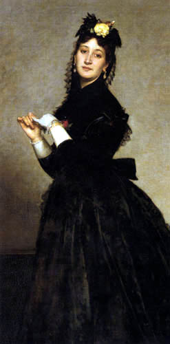 Emile Auguste Carolus-Duran - The Lady with the Glove