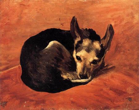 Emile Auguste Carolus-Duran - Le petit chien