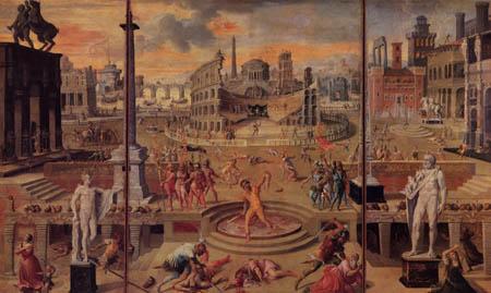 Antoine Caron - Das Massaker