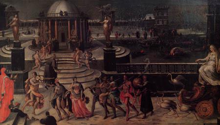Antoine Caron - Der Triumph des Winters