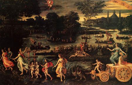 Antoine Caron - The triumph of the Summer