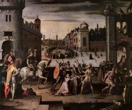 Antoine Caron - Das Martyrium des Thomas