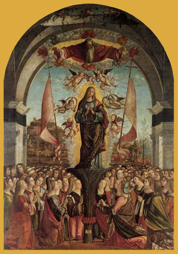 Vittore Carpaccio - Apotheosis of the holy Ursula