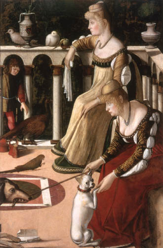 Vittore Carpaccio - Two Venetian Ladies