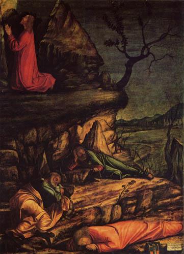 Vittore Carpaccio - Prayer of Christ