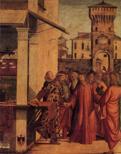 Vittore Carpaccio - Sermon of St. Matthew