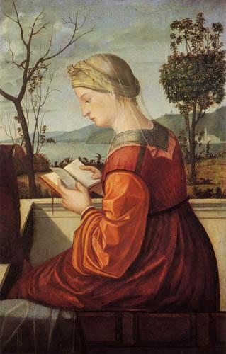 Vittore Carpaccio - Madonna Reading