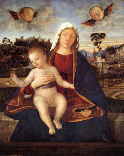 Vittore Carpaccio - Madonna with child