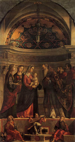 Vittore Carpaccio - Presentation of Jesus in the temple