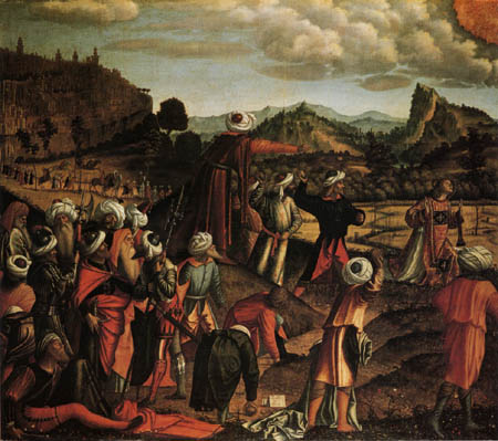 Vittore Carpaccio - The Martyrdom of Saint Stephen