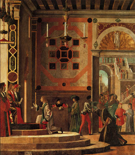 Vittore Carpaccio - The rejection of the English envoys