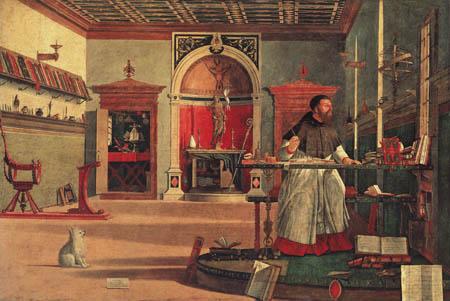 Vittore Carpaccio - Saint Augustine