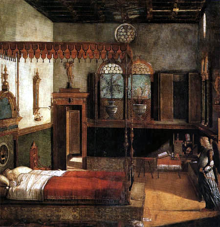 Vittore Carpaccio - The Dream of St. Ursula