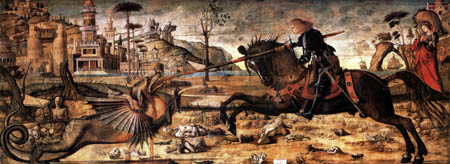 Vittore Carpaccio - Saint George Slaying the Dragon