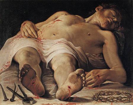 Annibale Carracci - Leichnam Christi