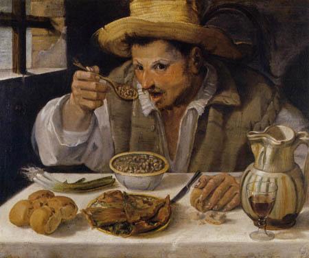Annibale Carracci - Der Bohnenesser