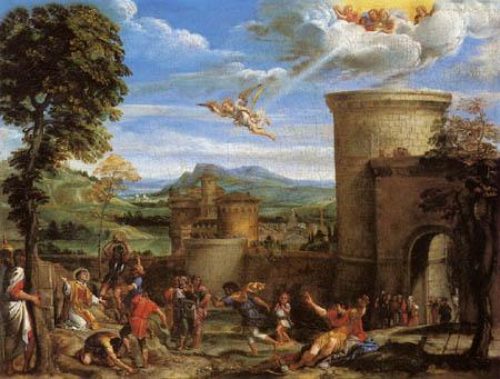 Annibale Carracci - Steinigung des hl. Stephanus