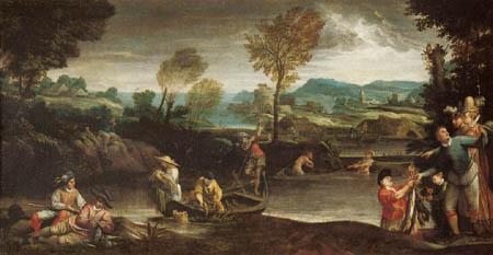 Annibale Carracci - Fishing