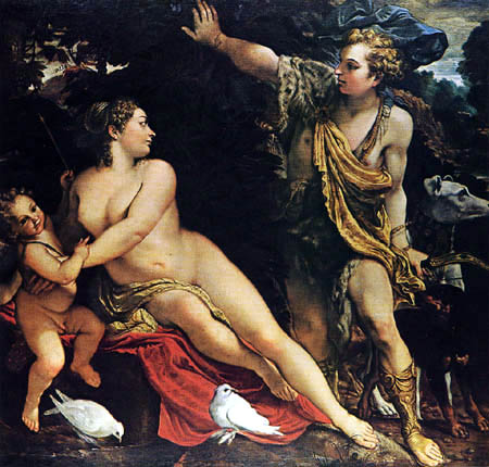 Annibale Carracci - Adonis find Venus