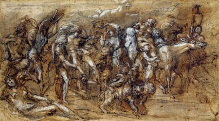 Annibale Carracci - Triumphzug von Bacchus und Ariadne