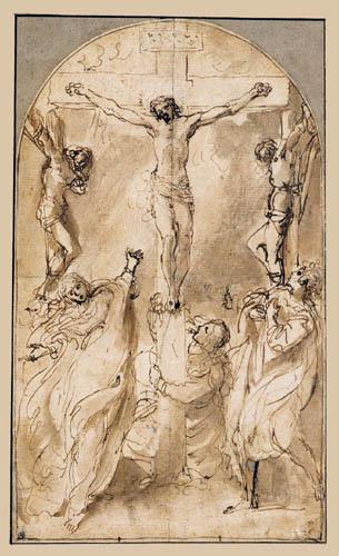 Ludovico Carracci - Crucifixion
