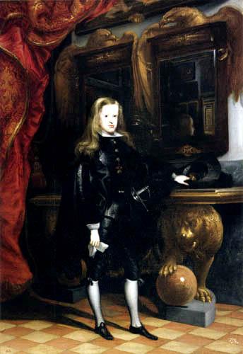 Juan Carreño de Miranda - Portrait of Carl II