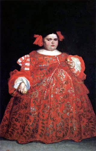 Juan Carreño de Miranda - Eugenia M. Vallejo, The deformity