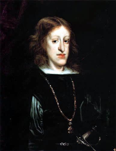 Juan Carreño de Miranda - Retrato de Rey Carlos II