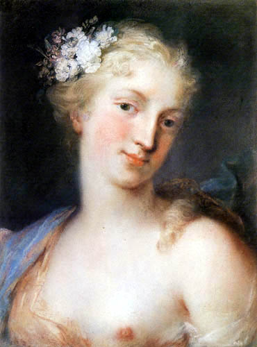Rosalba Carriera - Frauenbildnis