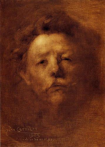 Eugène Carrière - Selfportrait