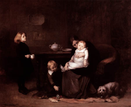Eugène Carrière - Das kranke Kind
