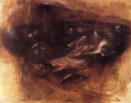 Eugène Carrière - Die Geburt