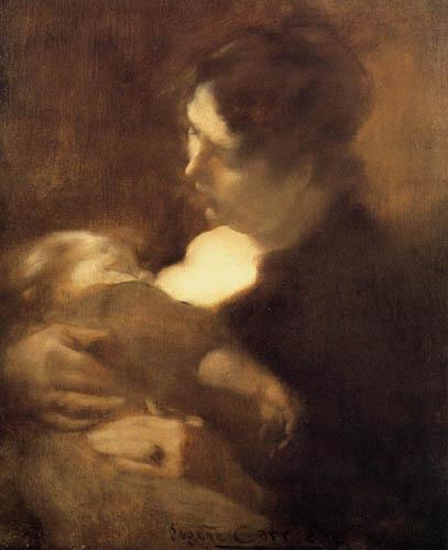 Eugène Carrière - Mutterglück