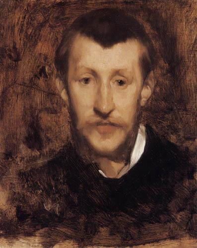 Eugène Carrière - Portrait of Roger Marx
