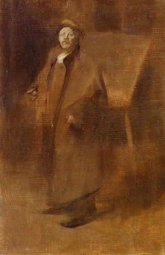 Eugène Carrière - Selbstbildnis