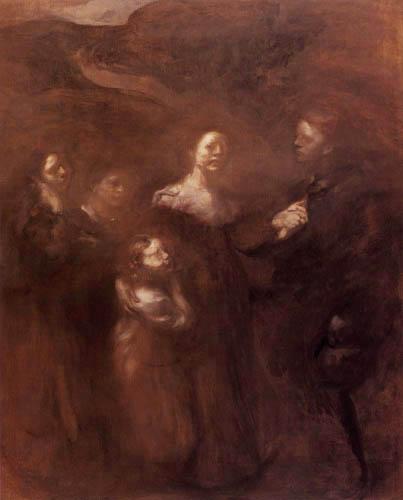 Eugène Carrière - The Family