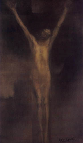 Eugène Carrière - Crucified Christ