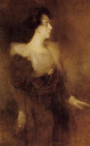 Eugène Carrière - Pauline Menard-Dorian