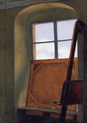 Carl Gustav Carus - Fenêtre de studio