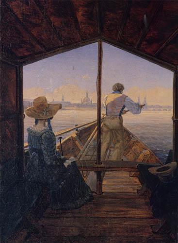 Carl Gustav Carus - Excursion dans le bateau