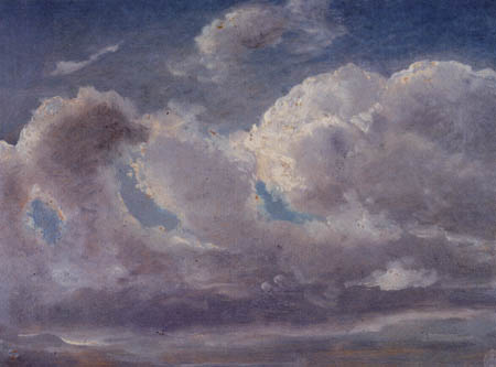 Carl Gustav Carus - Study of clouds
