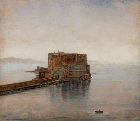 Carl Gustav Carus - Castel dellÓvo in Naples