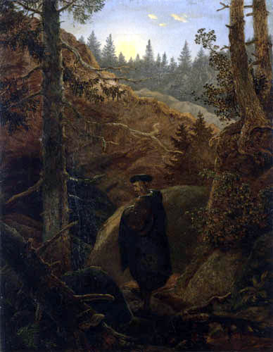 Carl Gustav Carus - Faust in the Mountains