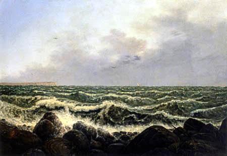 Carl Gustav Carus - Brandung bei Rügen
