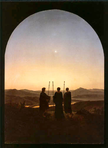 Carl Gustav Carus - The Three Wise Men from the East