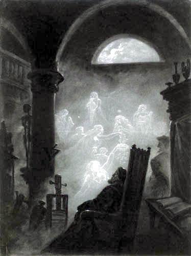 Carl Gustav Carus - Faust's Dream