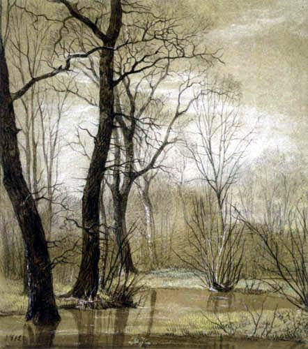 Carl Gustav Carus - Spring in the Rosental near Leipzig