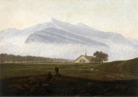 Carl Gustav Carus - Gebirgslandschaft