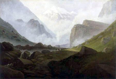 Carl Gustav Carus - Hochgebirgstal
